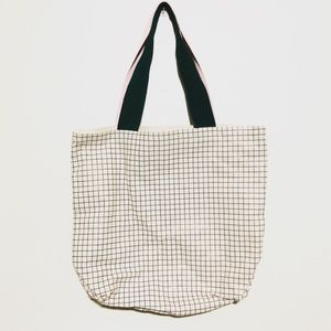 Ban.do oversized grid print tote bag
